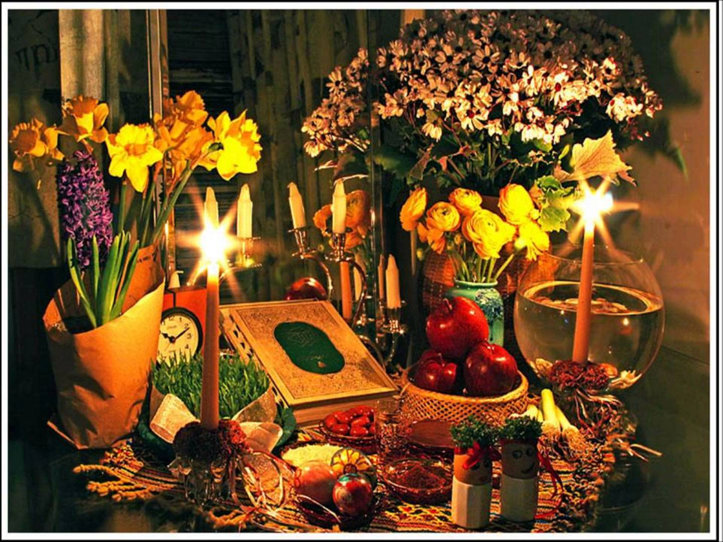 norouz Across much of the non-arab muslim world, people are celebrating norouz, the pre-islamic festival that marks arrival of spring and the beginning of the new year.