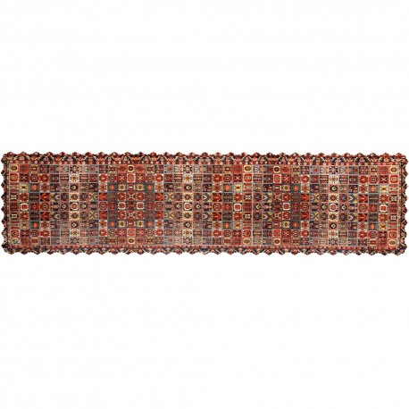 Shakhe tabler runner with Persian pattern 135cm x 35cm code 03