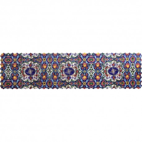 Shakhe tabler runner with Persian pattern 135cm x 35cm code 10