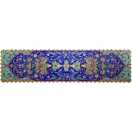 Shakhe tabler runner with Persian pattern 135cm x 35cm code 12