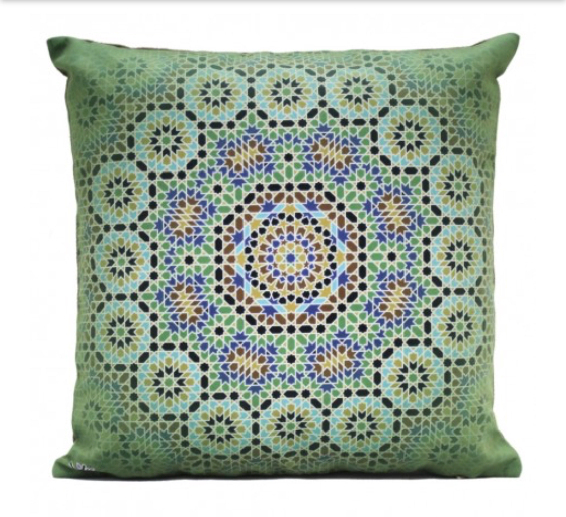 Shakhe Cushion with Persian Pattern (45cm x 45cm) code 07 ONLY COVER