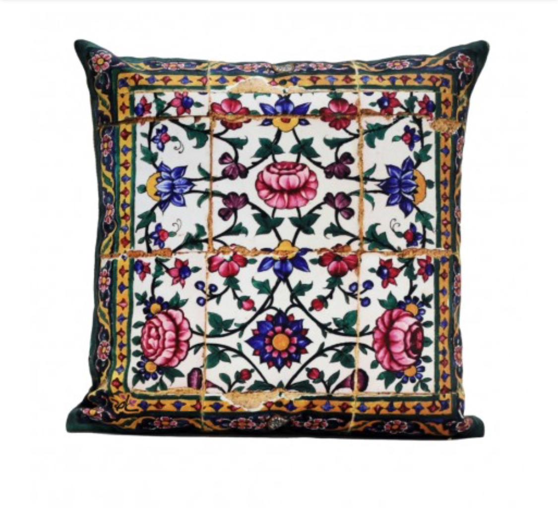 Shakhe Cushion with Persian Pattern (45cm x 45cm) code 05 ONLY COVER