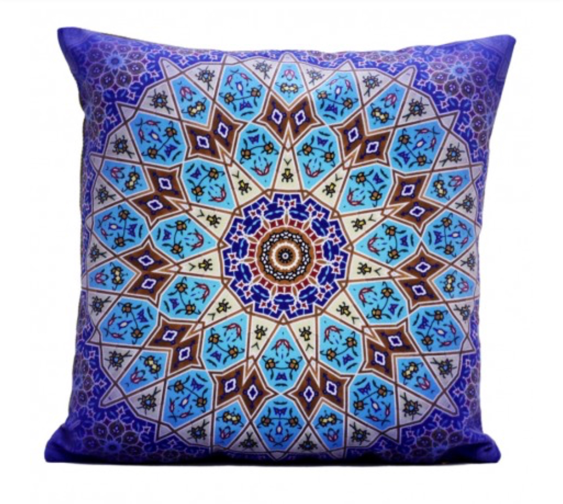Shakhe Cushion with Persian Pattern (45cm x 45cm) code 06 ONLY COVER