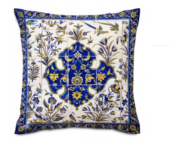 Shakhe Cushion with Persian Pattern (50cm x 50cm) code 16 ONLY COVER