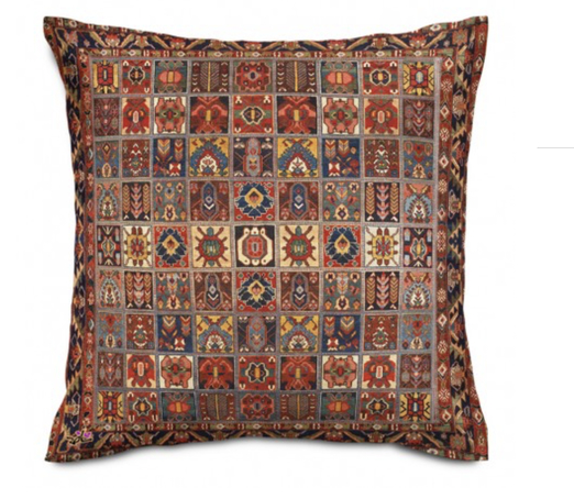 Shakhe Cushion with Persian Pattern (50cm x 50cm) code 10 ONLY COVER