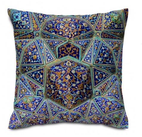 Shakhe Cushion with Persian Pattern (50cm x 50cm) code 17 ONLY COVER