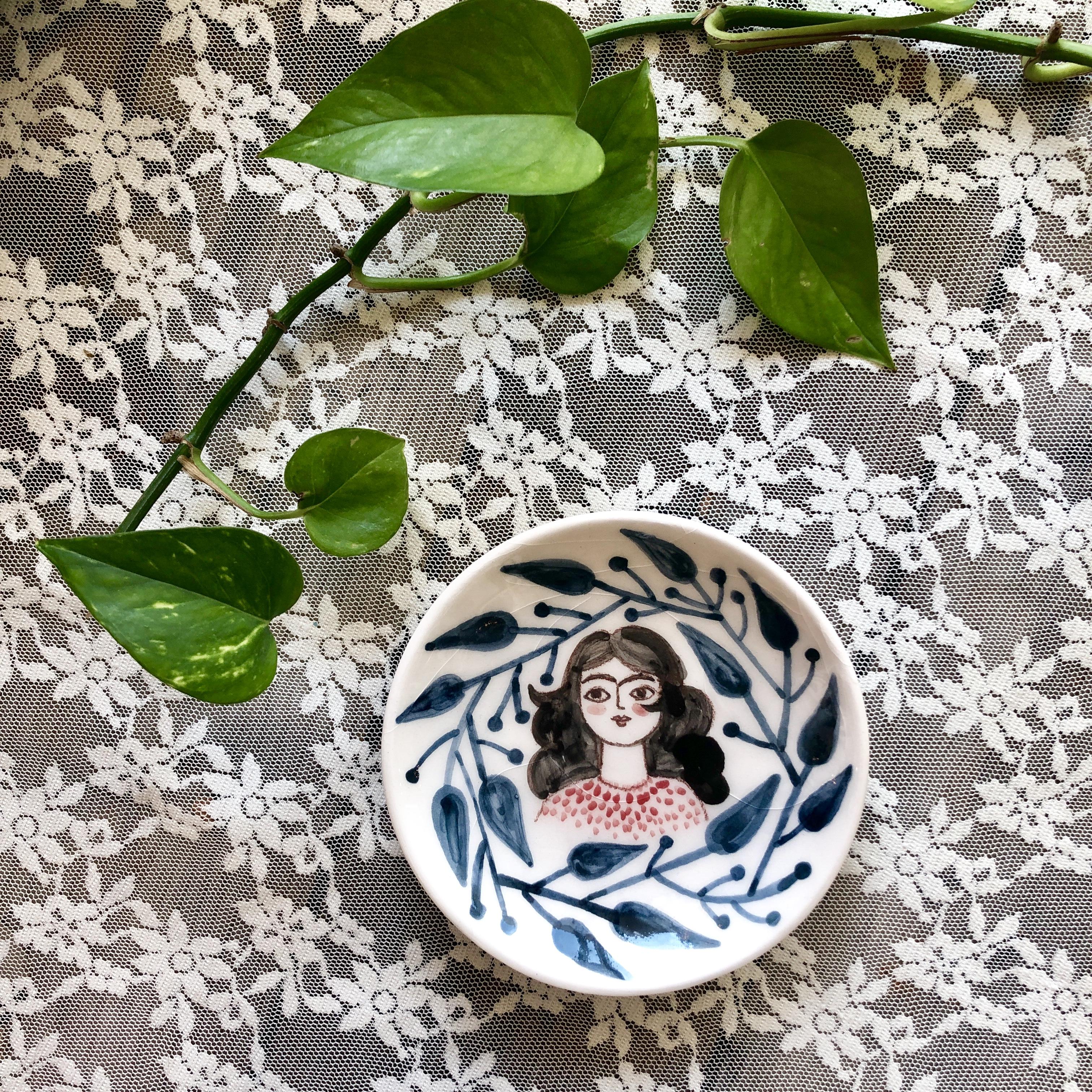 Laleh ArtCraft handmade plate 12.50cm Bargeabi