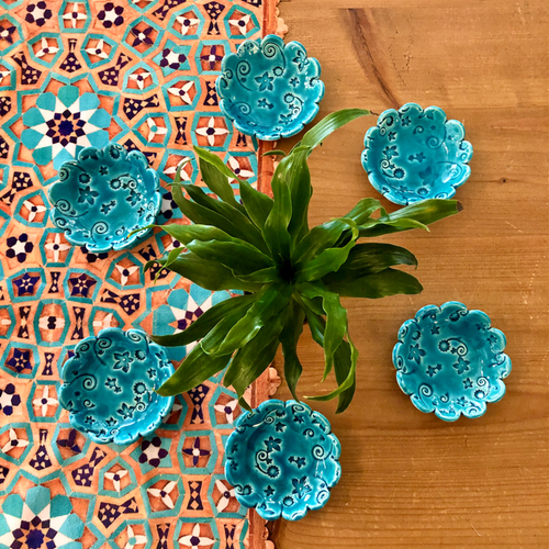 Satgin Haftseen 6 bowls setareh
