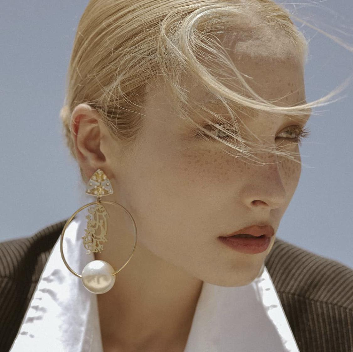 Dolat e eshgh amad earrings