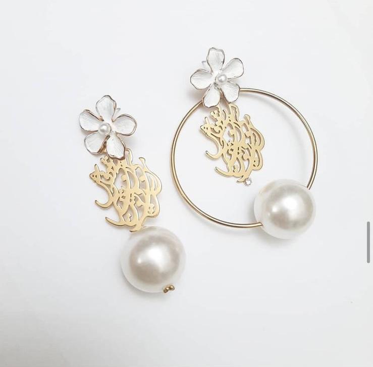 Nashavad Fash e kasi earrings ( Mismatch )